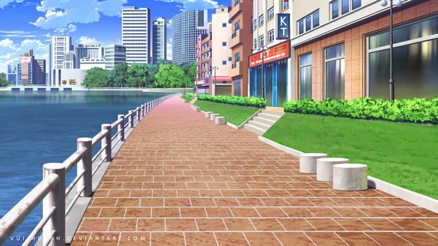 City street-Day