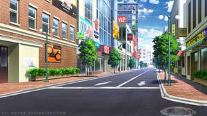 City walk way