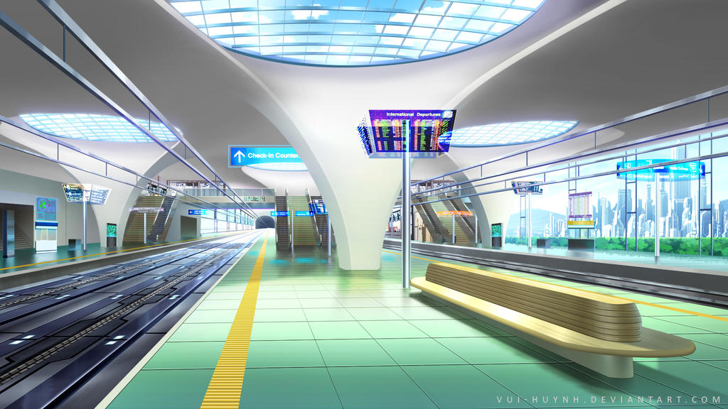 Furure Train Station by Vui-Huynh