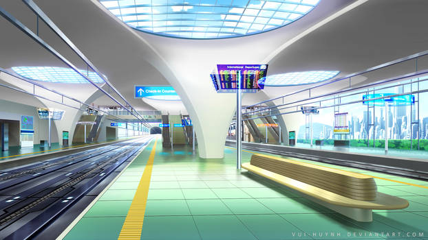 Furure Train Station