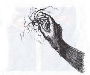 The hand holds some magic. :o by Rabiatorist