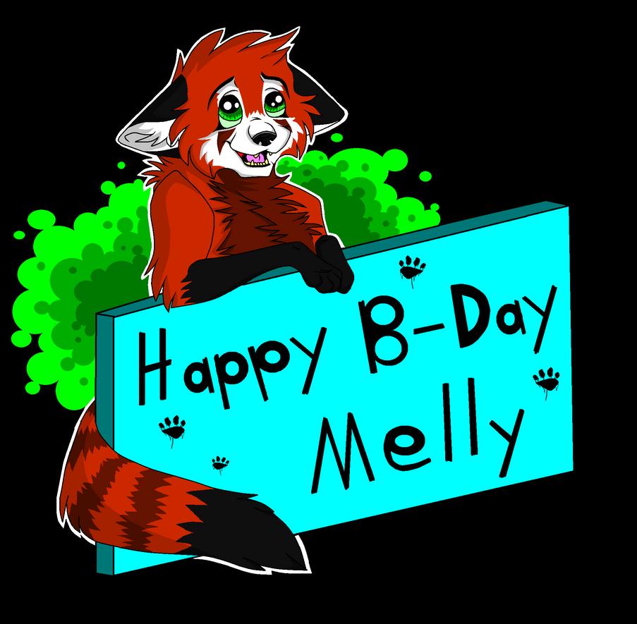 Happy Birthday Melly By Kekeywolf On DeviantArt