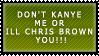 kanye n chris brown stamp by RoseRaptor-Stamps