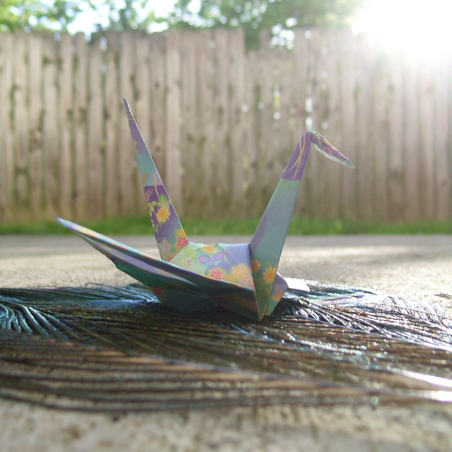 1,000 Deviants, 1,000 Cranes by NoDoodleIsSafe