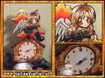 Custom Angel Clock