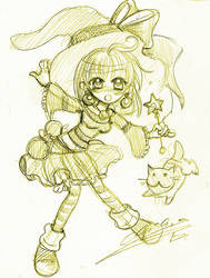 Little Witch by oliko