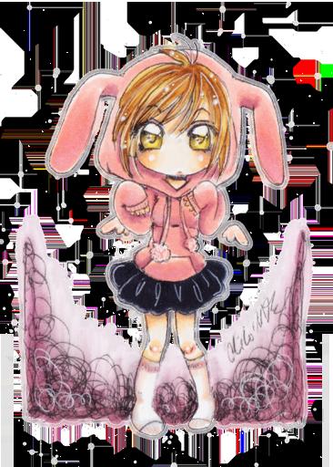 .:. pink rabbit .:. by oliko