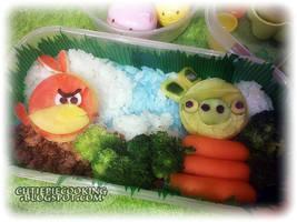 Angry Birds Bento by oliko