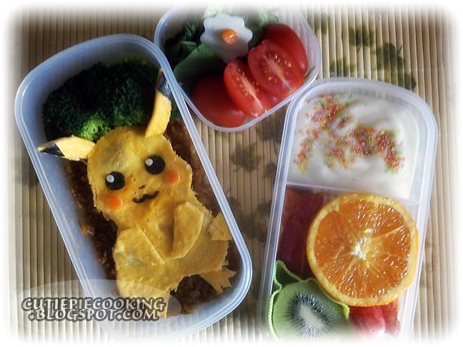 .:.Pikachu bento.:. by oliko