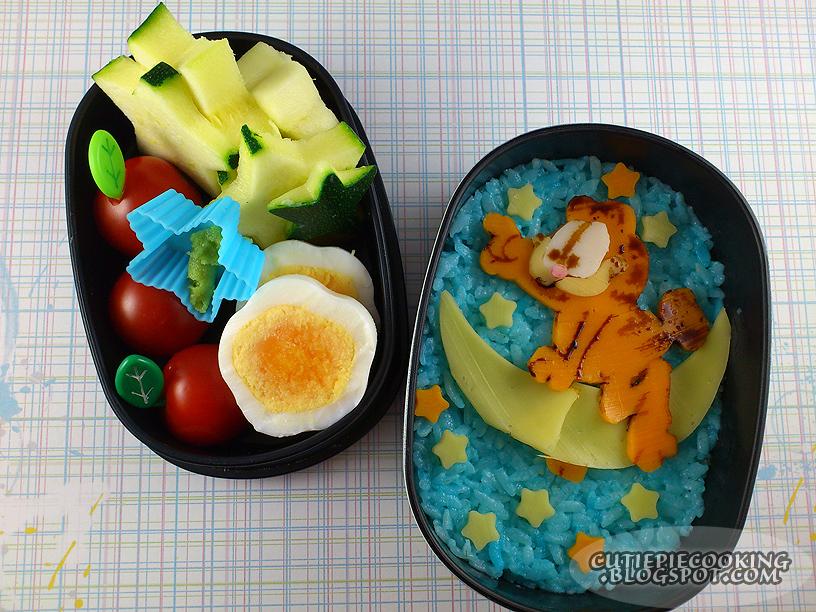 Bento - Garfield by oliko