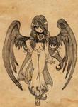 Dark Lady OC by oliko