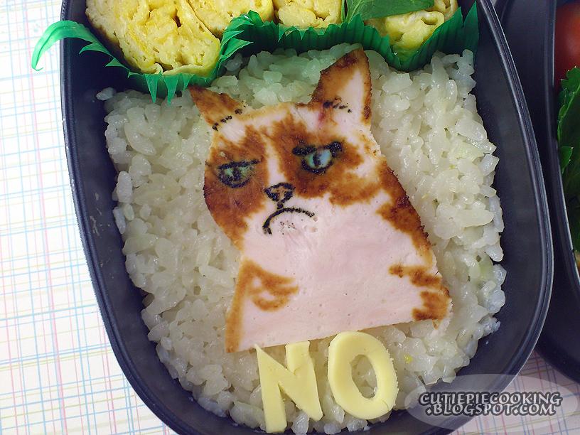 BENTO - Grumpy Cat by oliko