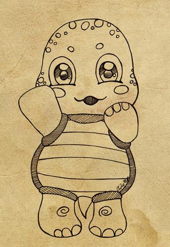 :: Little Turtle:: by oliko