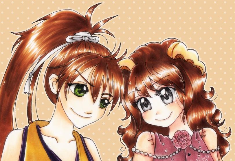 HS_Heisuke and Nanari by oliko