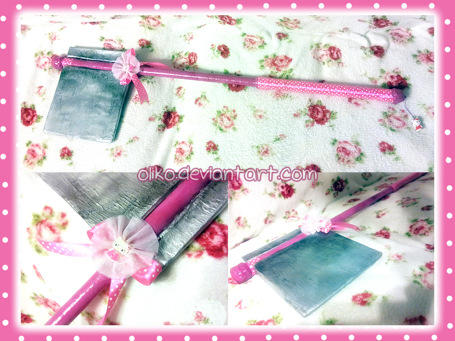 :: Hello Kitty Battle Axe :: by oliko