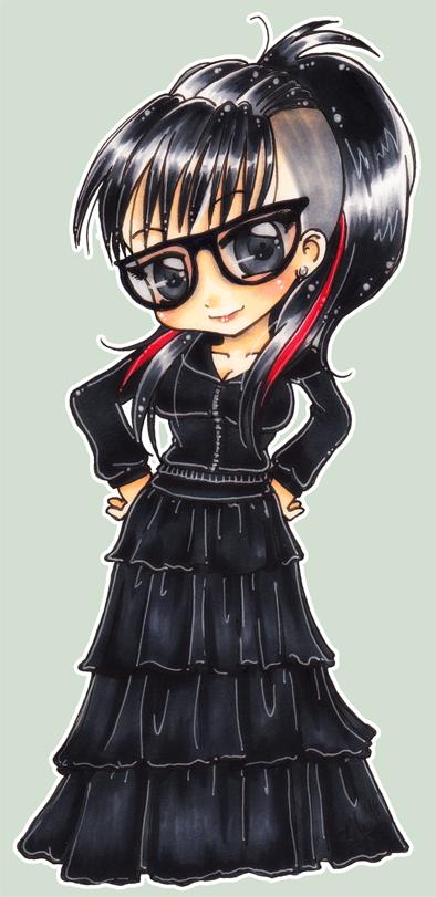 :: Soulia's chibi ID :: by oliko