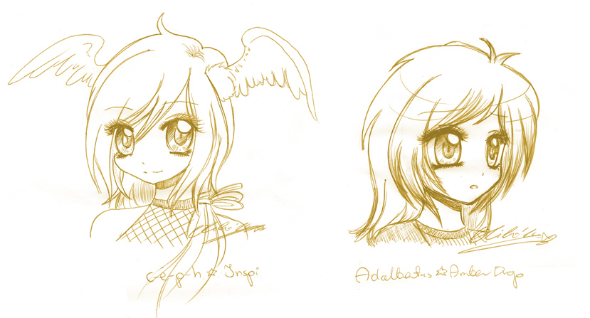 ::October sketches p.1:: by oliko