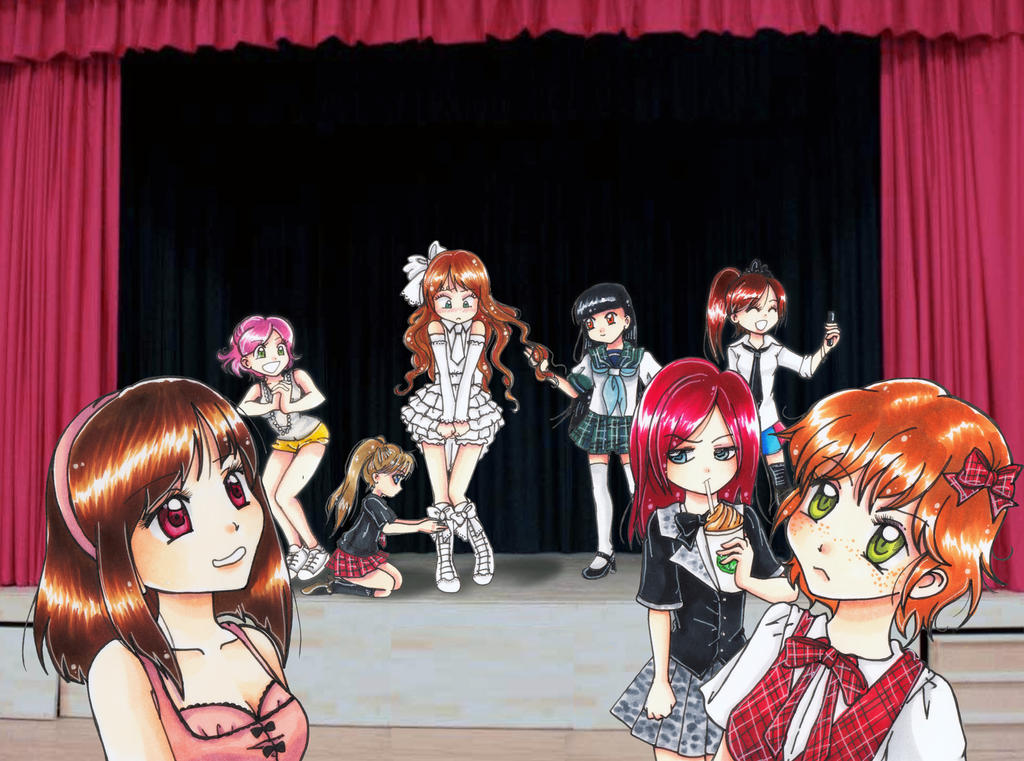 :: The New AKB48 Member :: by oliko