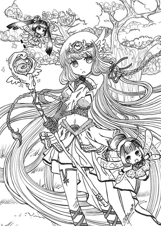 :: Fantasy Warrior Chii :: by oliko