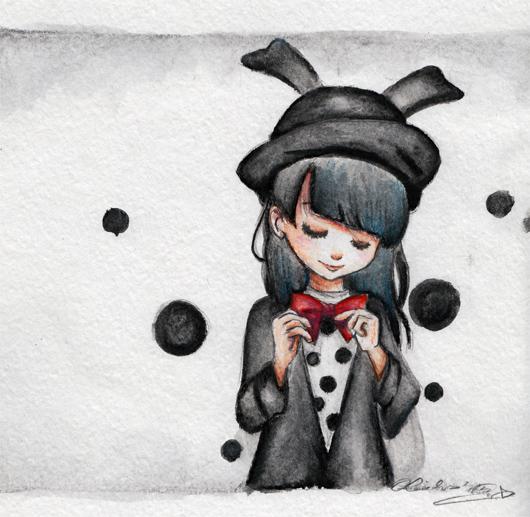 :: Black Bunny :: by oliko