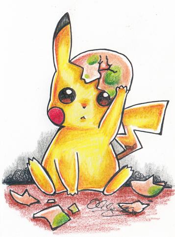 :: Pikachu :: by oliko