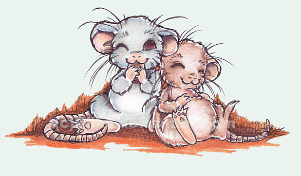 cute rat wallpaper art - photo #48