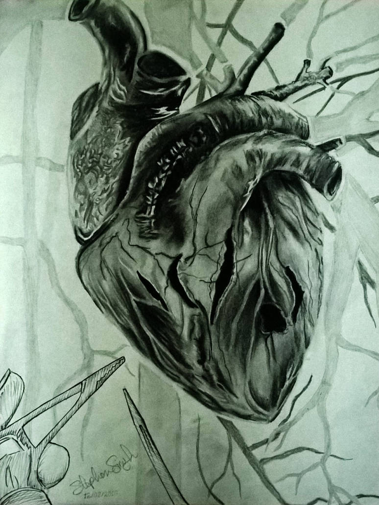 thE hEARt tORN APARt by pencilprisoner on DeviantArt