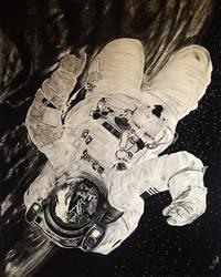 Astronaut by pencilprisoner