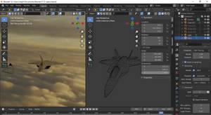 Blender - F22 Raptor