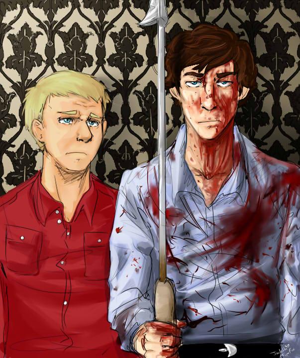 British Gothic -Sherlock by Jadethefirefox