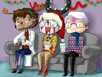WTNV- Crash the Christmas Party by Jadethefirefox