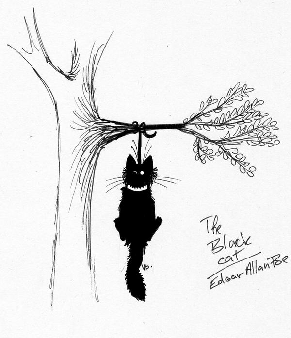 an analysis of symbolism in the black cat by edgar allan poe Need help with the black cat in edgar allan poe's poe's stories check out our revolutionary side-by-side summary and analysis.