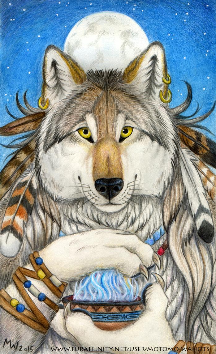Moonlight Ritual by Vlcek