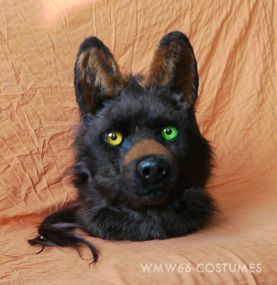 Motomo Wahots animatronic fursuit head by Vlcek
