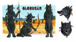 Globusak reference sheet by Vlcek