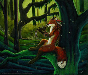 The forest song II by Vlcek