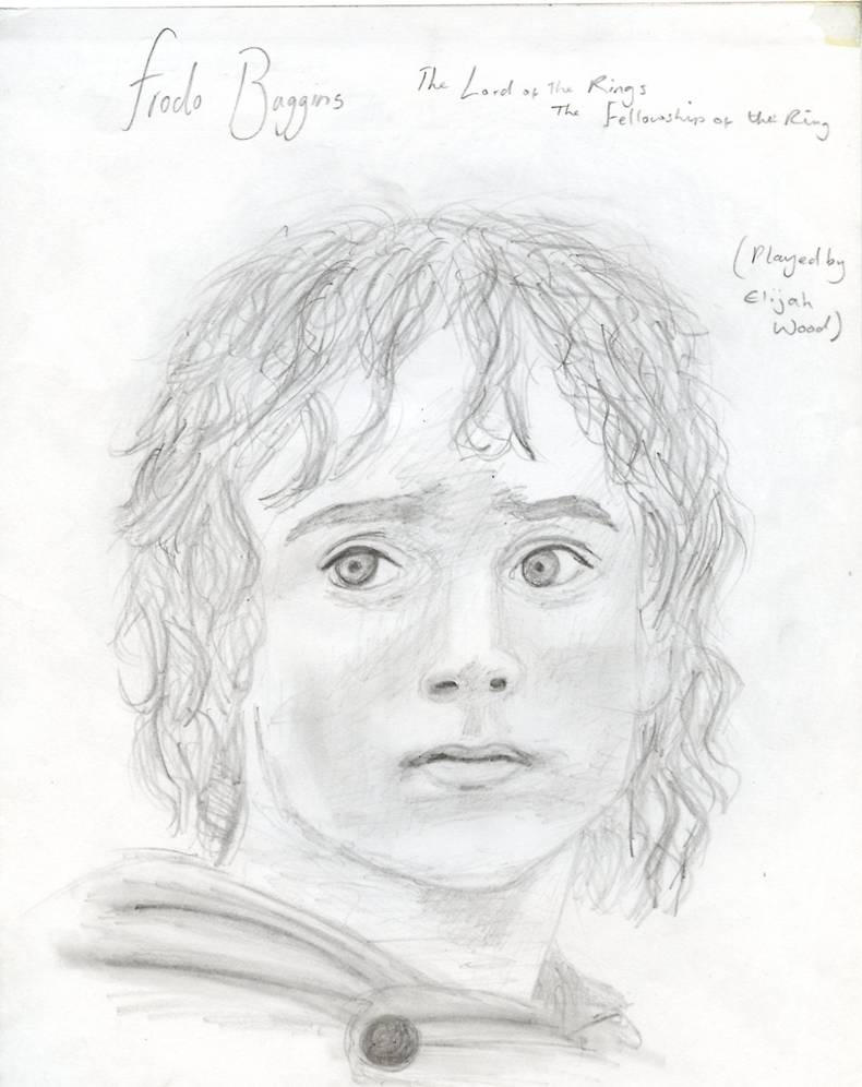 Elijah Wood as Frodo Baggins by chess-77