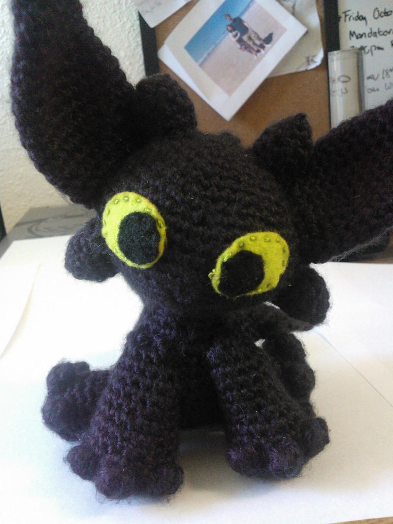 Toothless- Amigurumi by TawnyHawk on deviantART