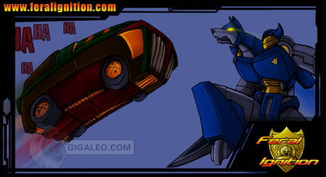 Feral Ignition: Rex Vs by Giga-Leo