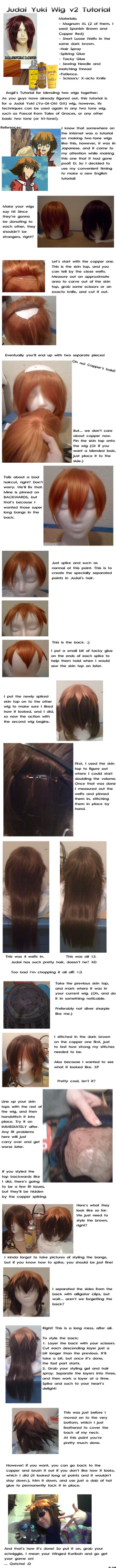 Judai Wig v2 Tutorial by AngiiAiKukki