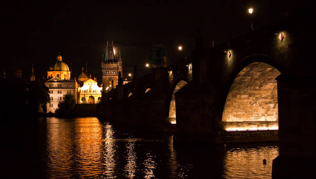 Night in Prague by Bozack