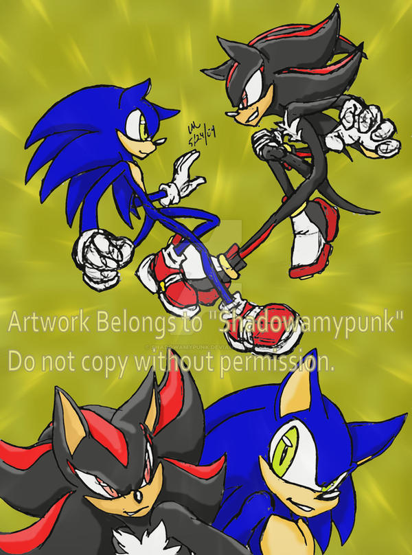 Sonic vs shadow 5 09 by shadowamypunk on deviantart - Jeux de sonic vs shadow ...