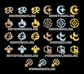 Emblems by bigrika
