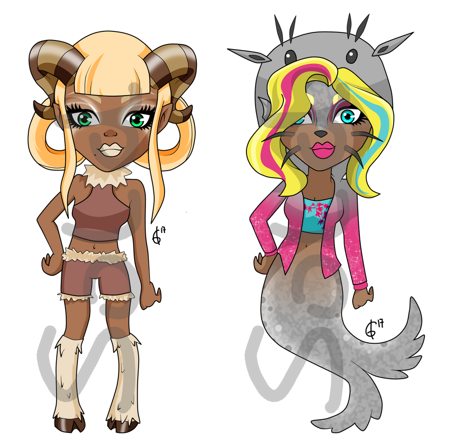Double Trouble Adoptables [Closed] by bigrika