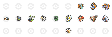 Pokemon-Villa: Fakemon Icons by bigrika