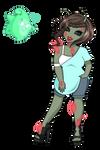 Ruby Red Gems by bigrika