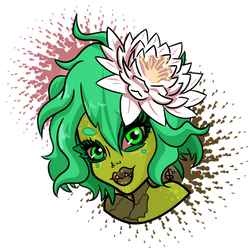 Headshot Mystery Adopt: Plant Monster (Water Lily)