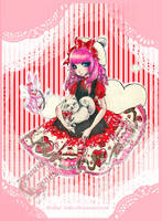 Angelic Pretty-ValentinesDress by Youkai-Yoko