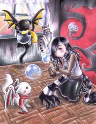 -The Kitties PlayPin- by Youkai-Yoko