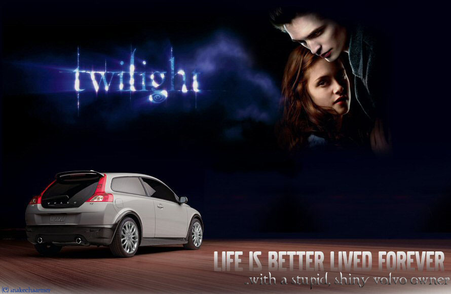Twilight Volvo Ad, Modified. By Snakechaarmer On DeviantArt